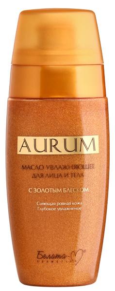 Белита-М Aurum Масло для лица и тела с золотым блеском Увлажняющее 115 мл