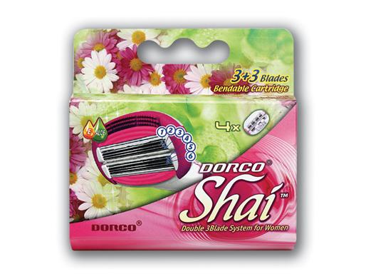 DORCO SHAI Sweetie 4'S смен.кассеты с 6лез.и с гиб.катриджем
