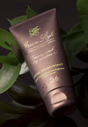 Liv-delano Green Style Скраб-эксфолиант «Для глубокого очищения кожи» 75 мл