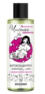 Чистое удовольствие Фитоконцентрат д/бани с эф.маслом эвкалипта 200мл/К12