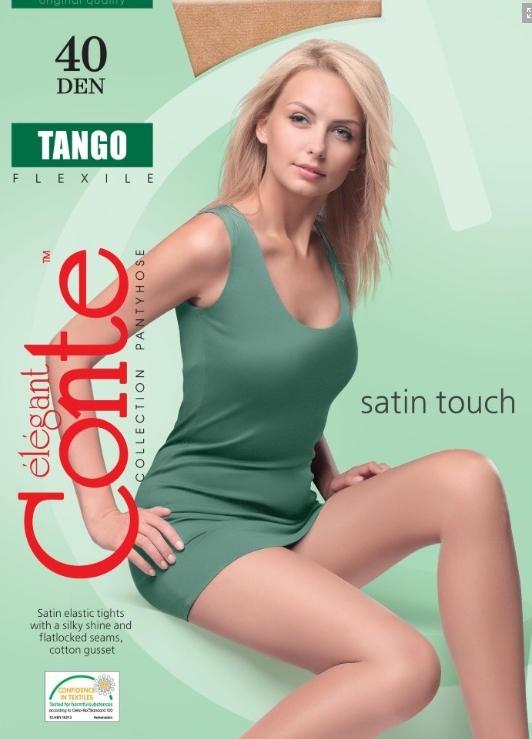 Колготки женские TANGO 40, p.3 bianco (Conte)