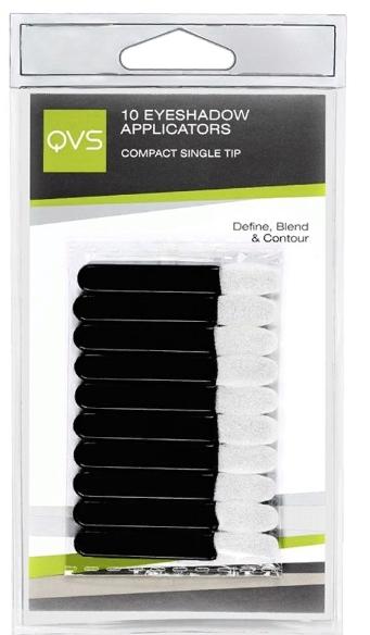 10-1107 QVS Аппликаторы для макияжа глаз, 10 шт.