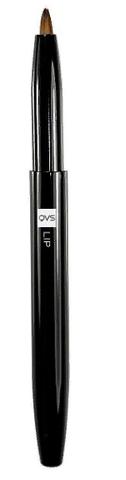 10-1075 QVS Мини-кисточка выкручивающаяся для макияжа губ из гипоаллергенных нейлоновых волокон