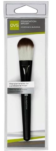 10-1095 QVS Кисть для основы макияжа из мягких синтетических волокон