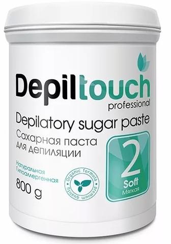 Сахарная паста для депиляции МЯГКАЯ 800 г. (Depiltouch)