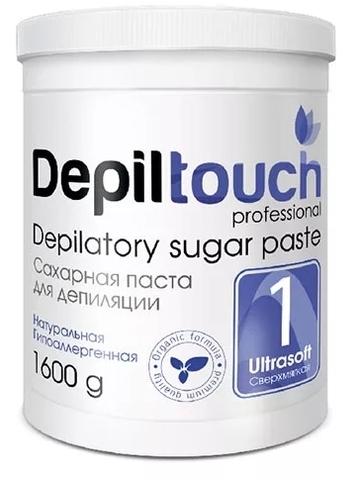 Сахарная паста для депиляции СВЕРХМЯГКАЯ 1600 г. (Depiltouch)