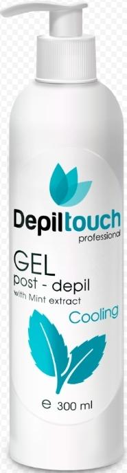 Охлаждающий гель с экстрактом мяты после депиляции 300 мл. (Depiltouch)