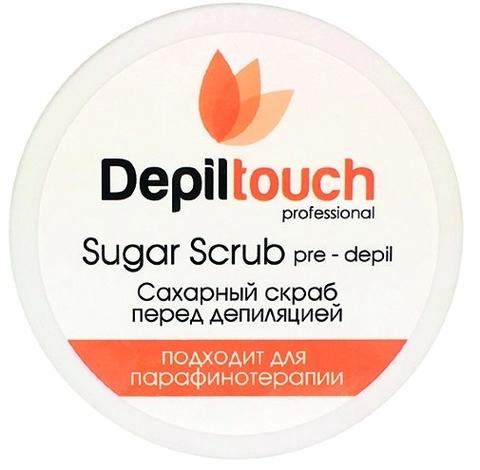Скраб сахарный перед депиляцией с натуральным мёдом 250 мл.