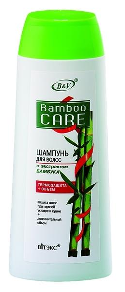 Bamboo Care Шампунь для волос ''Термозащита+Объём'' 500 мл