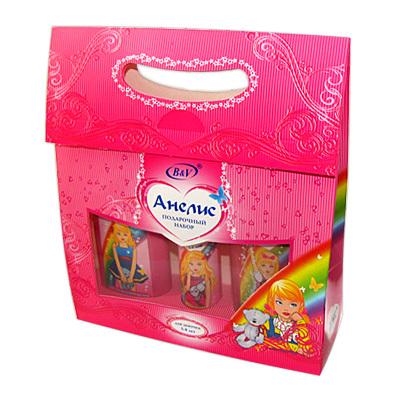 Vitex Анелис Подарочный набор: Шампунь+Гель для душа+Спрей-кондиционер для волос 250+250+250 мл