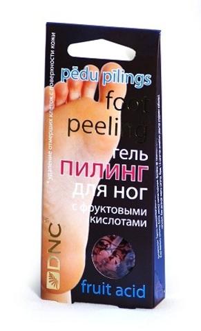 Гель для ног с фруктовыми кислотами (пилинг), 40 мл (DNC)