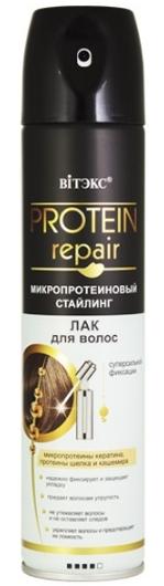 PROTEIN REPAIR Микропротеин.стайлинг Лак д/волос с/сильн. фикс.(баллон) 300мл/16