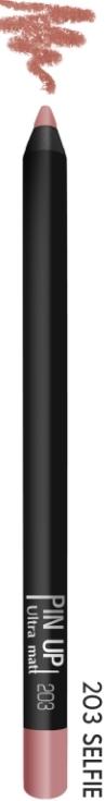 Карандаш для губ PIN UP ultra matt тон 203 (selfie)
