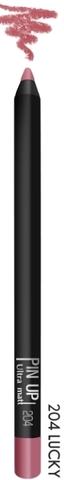 Карандаш для губ PIN UP ultra matt тон 204 (lucky)