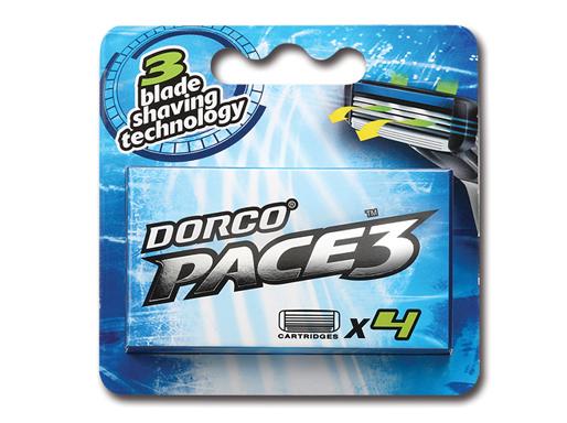 DORCO PACE3 4'S сменные кассеты с 3лезвиями