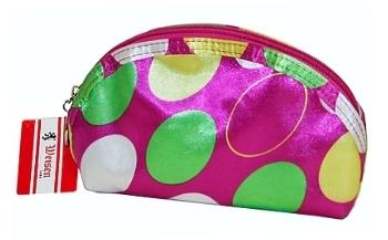 Косметичка BG-71114-002-2 розовая в горошек