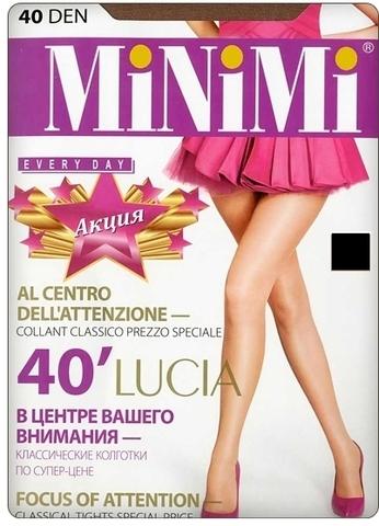 Lucia 40 колготки nero 3 (Minimi)