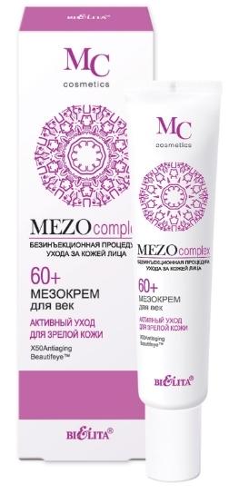 MEZOcomplex Мезокрем для век 60+ Активный уход д/зрелой кожи 30мл/18