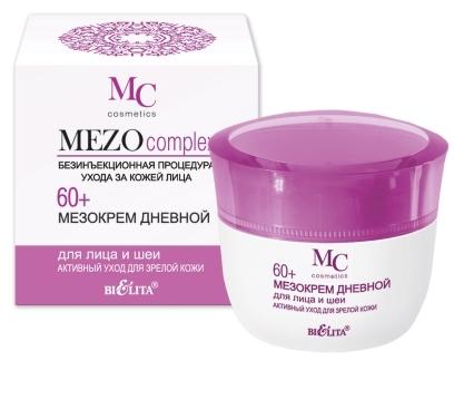 MEZOcomplex Мезокрем дневной для лица 60+ Активный уход д/зрелой кожи 50мл/16