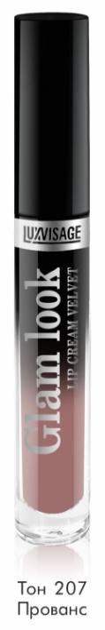 Губная помада GLAM LOOK Жидкая cream velvet тон 207 К5