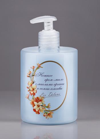 Liv-delano Organic Oils Collection Крем-мыло нежное «С маслами арганы и семян клюквы» 500 г.