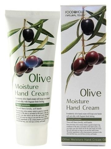 Крем для рук с экстрактом Оливы 100мл (FoodaHolic)