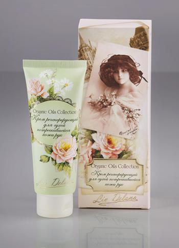 Liv-delano Organic Oils Collection Крем регенерирующий «Для сухой потрескавшейся кожи рук» 100 г.