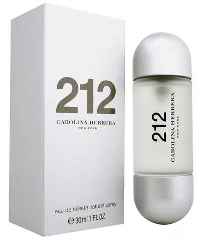 C. HERRERA 212 w EDT  30 ml