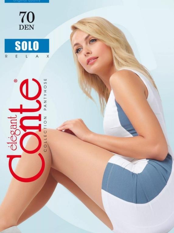 Колготки жен. Conte SOLO 70,  p.5 natural
