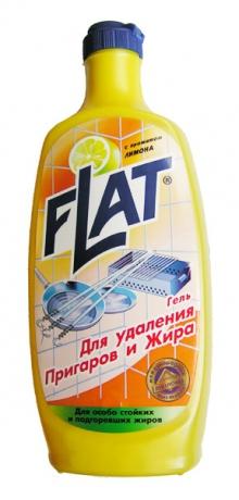Гель для удаления пригаров и жира лимон 500 г