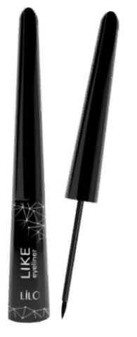 LiLo Подводка для глаз жидкая LiLo LIKE цвет черный