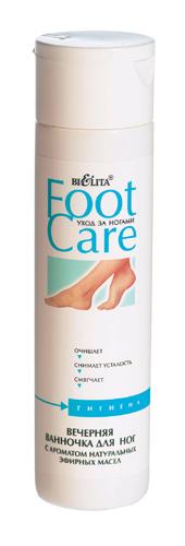 Белита Foot Care Вечерняя ванночка для ног с ароматом натуральных эфирных масел 250 мл