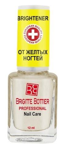 Средство для ногтей Восстанавливающее от желтых ногтей Nail Brightener 12 мл. (Brigitte Bottier)