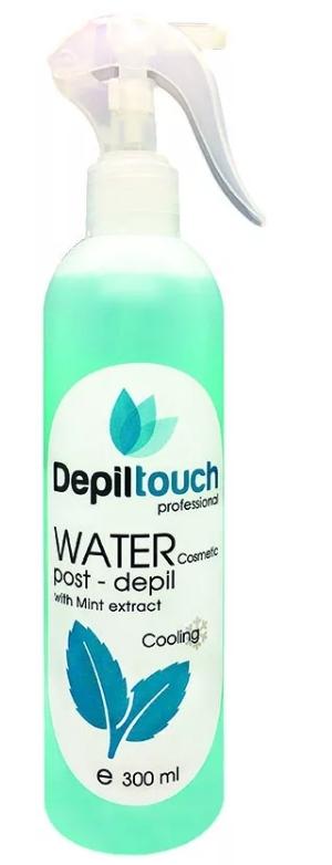 Вода косметическая охлаждающая с экстрактом мяты 300 мл. (Depiltouch)