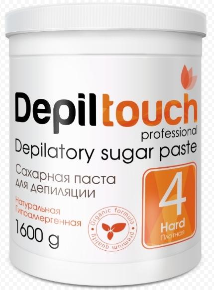 Сахарная паста для депиляции ПЛОТНАЯ 1600 г. (Depiltouch)