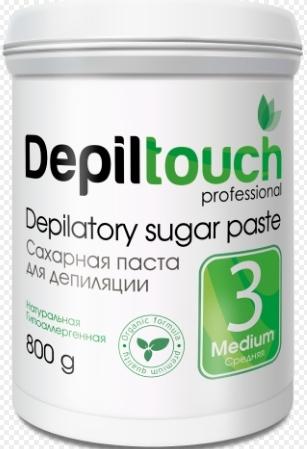 Сахарная паста для депиляции СРЕДНЯЯ 800 г. (Depiltouch)