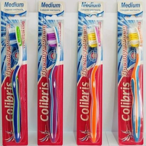 Зубная щетка арт.0902 средняя жесткость К40