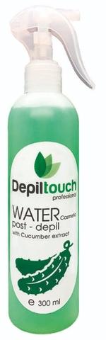 Вода косметическая с экстрактом огурца 300 мл. (Depiltouch)