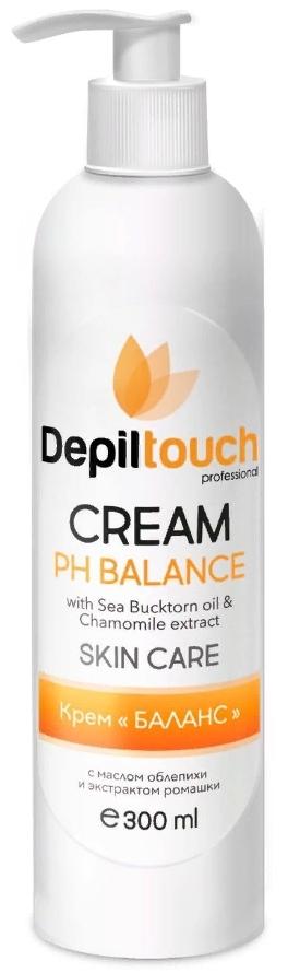 Крем «PH BALANCE» с маслом облепихи и экстрактом ромашки 300мл (Depiltouch)