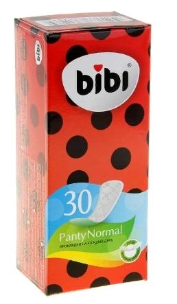 Bibi прокладки ежедневные Panty normal 30