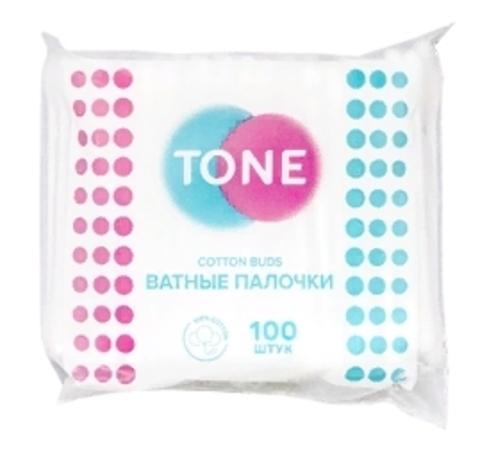 Tone Ватные палочки а/з 100шт (Tone)