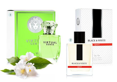 Набор косметики №8 (Virt Sense + Bl.&White)