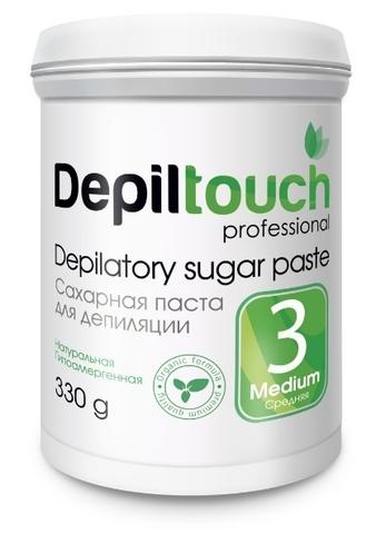 Сахарная паста для депиляции СРЕДНЯЯ 330г (Depiltouch)
