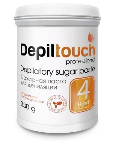 Сахарная паста для депиляции ПЛОТНАЯ 330г (Depiltouch)