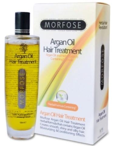 MORFOSE Argan Oil Hair Treatment Масло для сухих волос 100 мл.